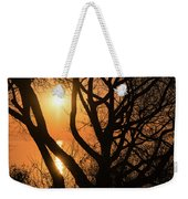 Gorgeous Morning Through The Tree Screen Weekender Tote Bag