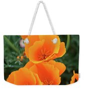 Gorgeous Orange California Poppies Weekender Tote Bag