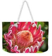 Gorgeous Pink Protea Bloom  Weekender Tote Bag