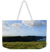 Gorgeous Seascape Along The Cliffs Of Moher In Ireland Weekender Tote Bag