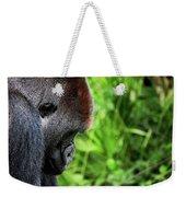 Gorilla Portrait Weekender Tote Bag