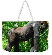 Gorilla Posing Weekender Tote Bag