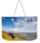 Gorse At Cullernose Point Weekender Tote Bag