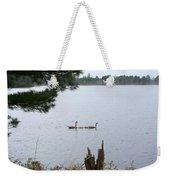 Goslings And Geese Weekender Tote Bag