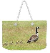 Goslings Following Mama Weekender Tote Bag