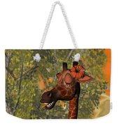 Gossiping Giraffe Weekender Tote Bag