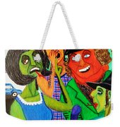 Gossips At The Greengrocer's Weekender Tote Bag