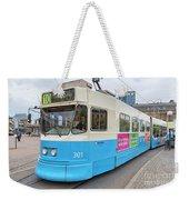 Gothenburg City Tram Weekender Tote Bag