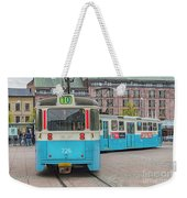 Gothenburg Public Tram Weekender Tote Bag