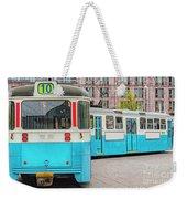 Gothenburg Public Tramcar Weekender Tote Bag