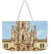 Gothic Cathedral In Havana Weekender Tote Bag