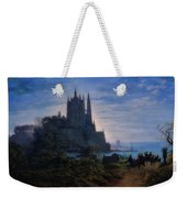 Gothic Church On A Rock Weekender Tote Bag