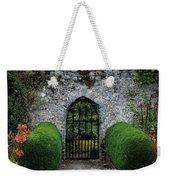 Gothic Entrance Gate, Walled Garden Weekender Tote Bag