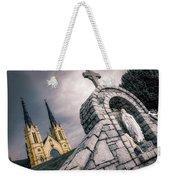 Gothic Faith Weekender Tote Bag