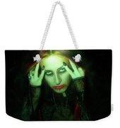 Gothic Female Model Weekender Tote Bag