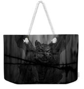 Gothic Guardian Bw Weekender Tote Bag