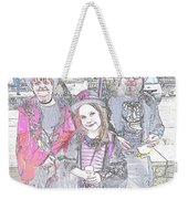 Gothic Ice Cream Girl Weekender Tote Bag