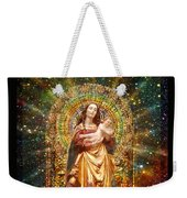 Gothic Madonna And The Child Weekender Tote Bag
