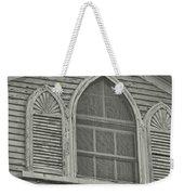 Nantucket Gothic Window  Weekender Tote Bag