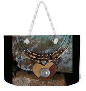 Gourd Button Heart H91 Weekender Tote Bag