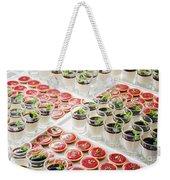 Gourmet Desserts Weekender Tote Bag