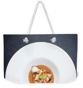 Gourmet Stuffed Squid With Vegetables In Pumpkin Curry Puree Weekender Tote Bag