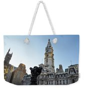 Government Of The People And City Hall Philadelphia Weekender Tote Bag