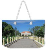 Governor Mansion In Battambang Cambodia Weekender Tote Bag