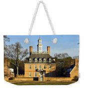 Governor's Palace Williamsburg Weekender Tote Bag