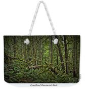 Gowlland Park Treescape Weekender Tote Bag