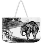 Goya: Elephant, C1820 Weekender Tote Bag