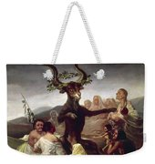 Goya: Witches Sabbath Weekender Tote Bag