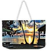 Grabbers Sunset Weekender Tote Bag