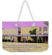 Grace Lutheran School Weekender Tote Bag