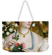 Grace Rose Weekender Tote Bag by Anthony Frederick Augustus Sandys