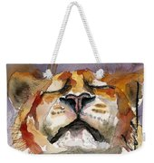 Grace With Faith Weekender Tote Bag