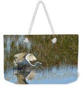 Graceful Great Egret Weekender Tote Bag