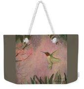 Graceful Hummingbird Weekender Tote Bag