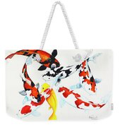 Graceful Koi Weekender Tote Bag