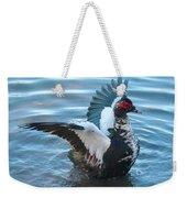 Graceful Muscovy Duck Weekender Tote Bag