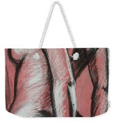 Graceful Pink - Nudes Gallery Weekender Tote Bag by Carmen Tyrrell