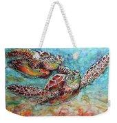 Sea Turtle Buddies Weekender Tote Bag