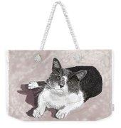Gracie Jacks Cat Now Weekender Tote Bag