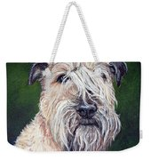 Gracie, Soft Coated Wheaten Terrier Weekender Tote Bag