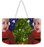 Gracies Christmas Tree Weekender Tote Bag