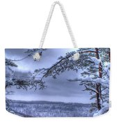 Gracious Winter Weekender Tote Bag