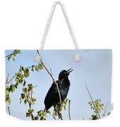 Grackle Cackle Weekender Tote Bag