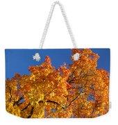 Gradient Autumn Tree Weekender Tote Bag