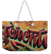Graffiti 22 Weekender Tote Bag