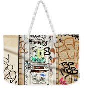 Graffiti Doorway New Orleans Weekender Tote Bag